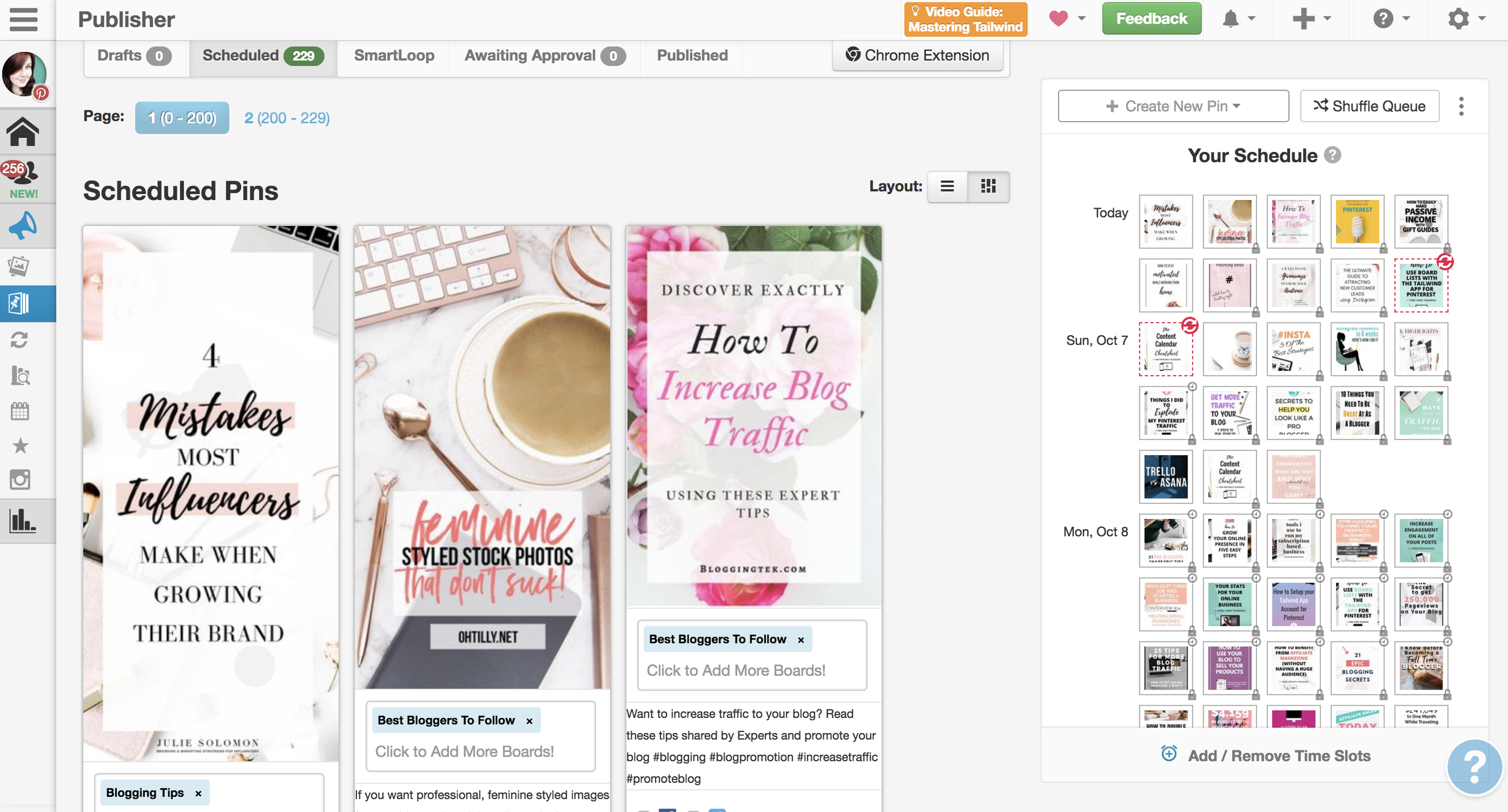 How to Setup your Tailwind App Account for Pinterest #tailwindapp #pinterestmarketing