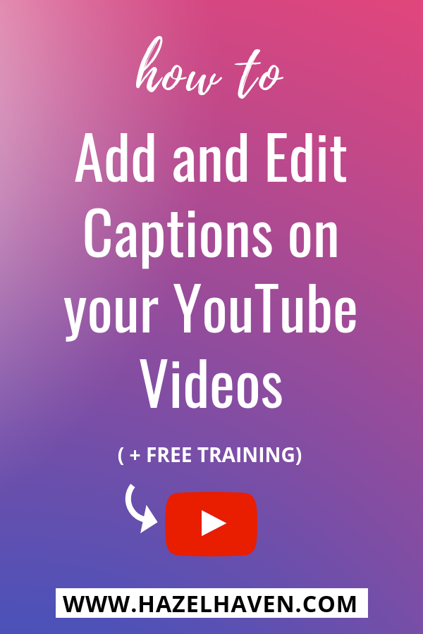 How to Edit or Add Subtitles on YouTube #youtubecaptions #youtubetutorial