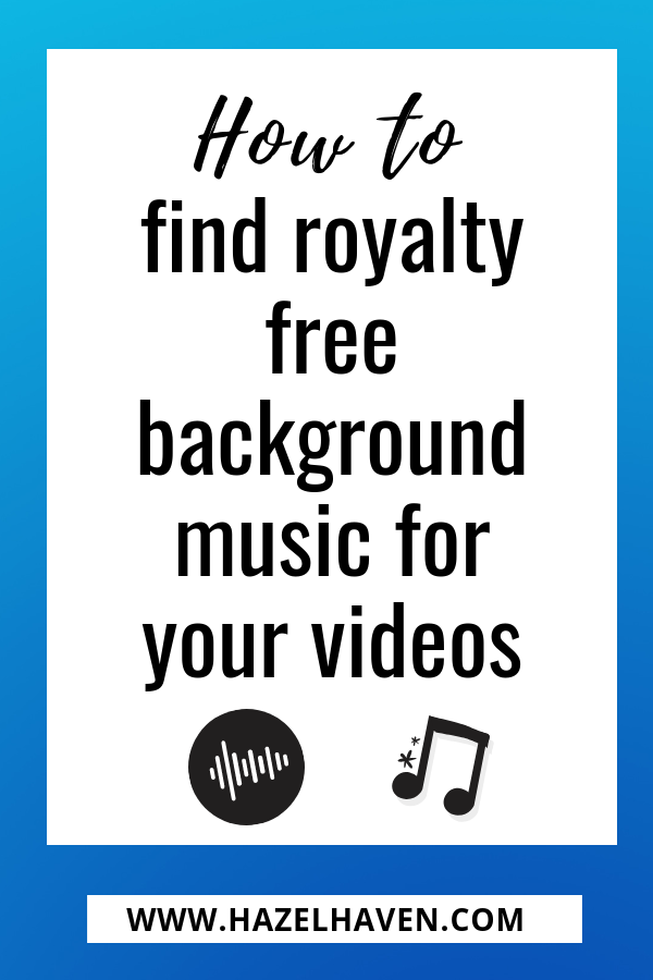 How to Find Royalty Free Background Music for Your Videos #videomarketing #videoediting #tubebuddy