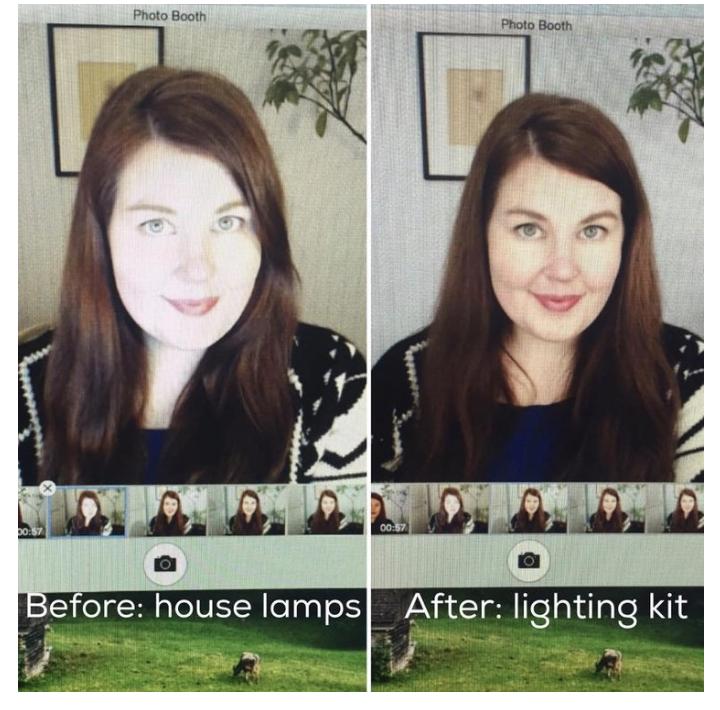 lighting kit for making videos