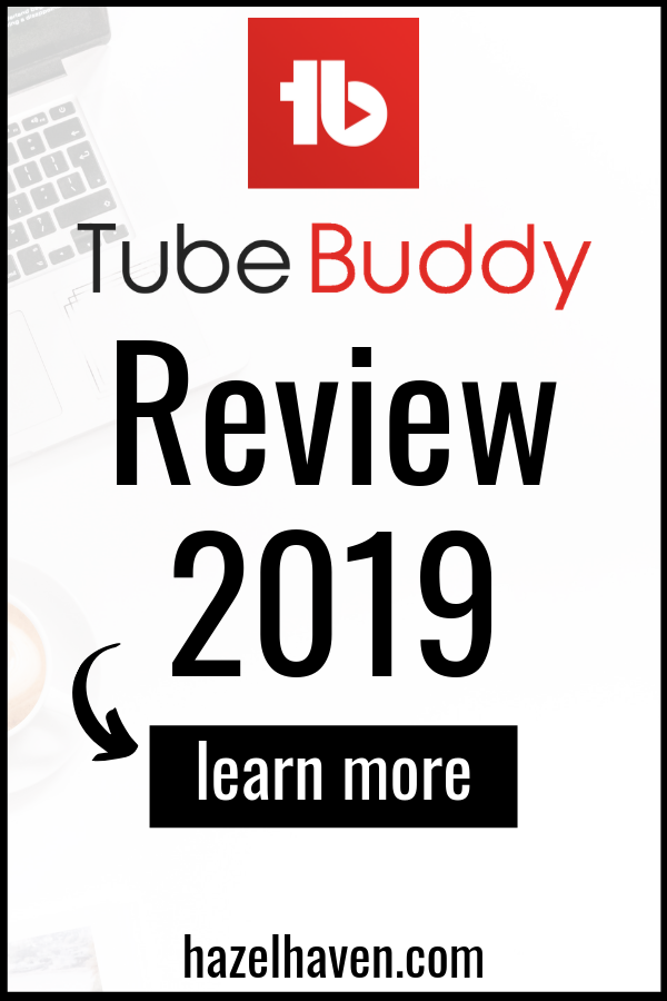 TubeBuddy is a chrome extension that will help you grow and monitor your YouTube channel easily! Here's my review via LIndsey Hazel @hazelhaven #youtube #tubebuddy