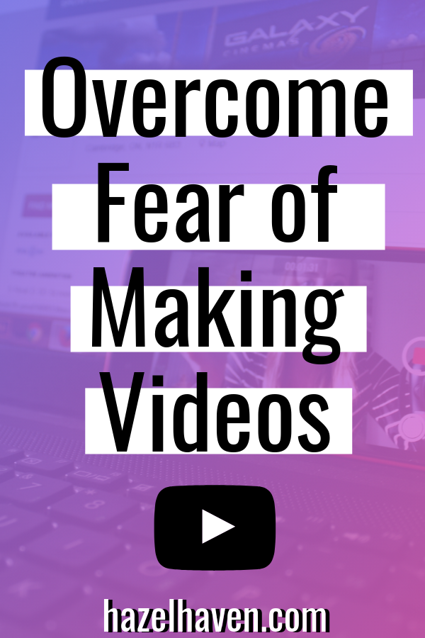 How I Overcame my Fear of Making Videos | Video Confidence #videomarketing #youtubevideos #videocontent