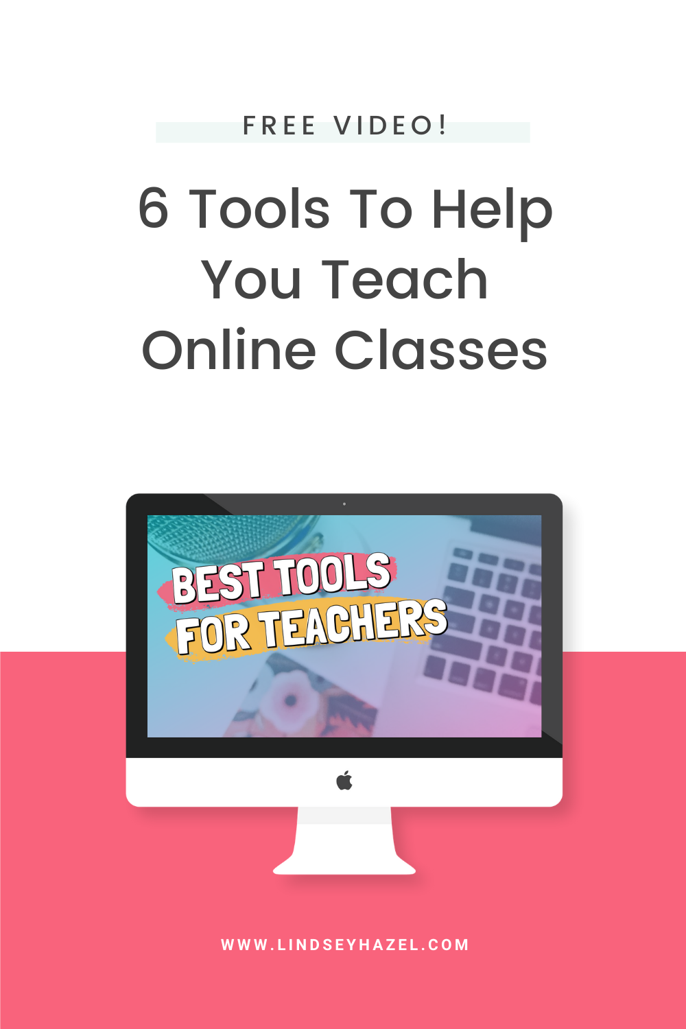 What are the best online teaching tools for teachers? In this video, I share 6 apps for teachers who are teaching online classes from home and how to use them.