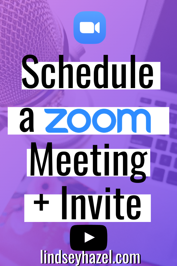 Schedule a Zoom Meeting and Send an Invite #zoom #zoommeeting