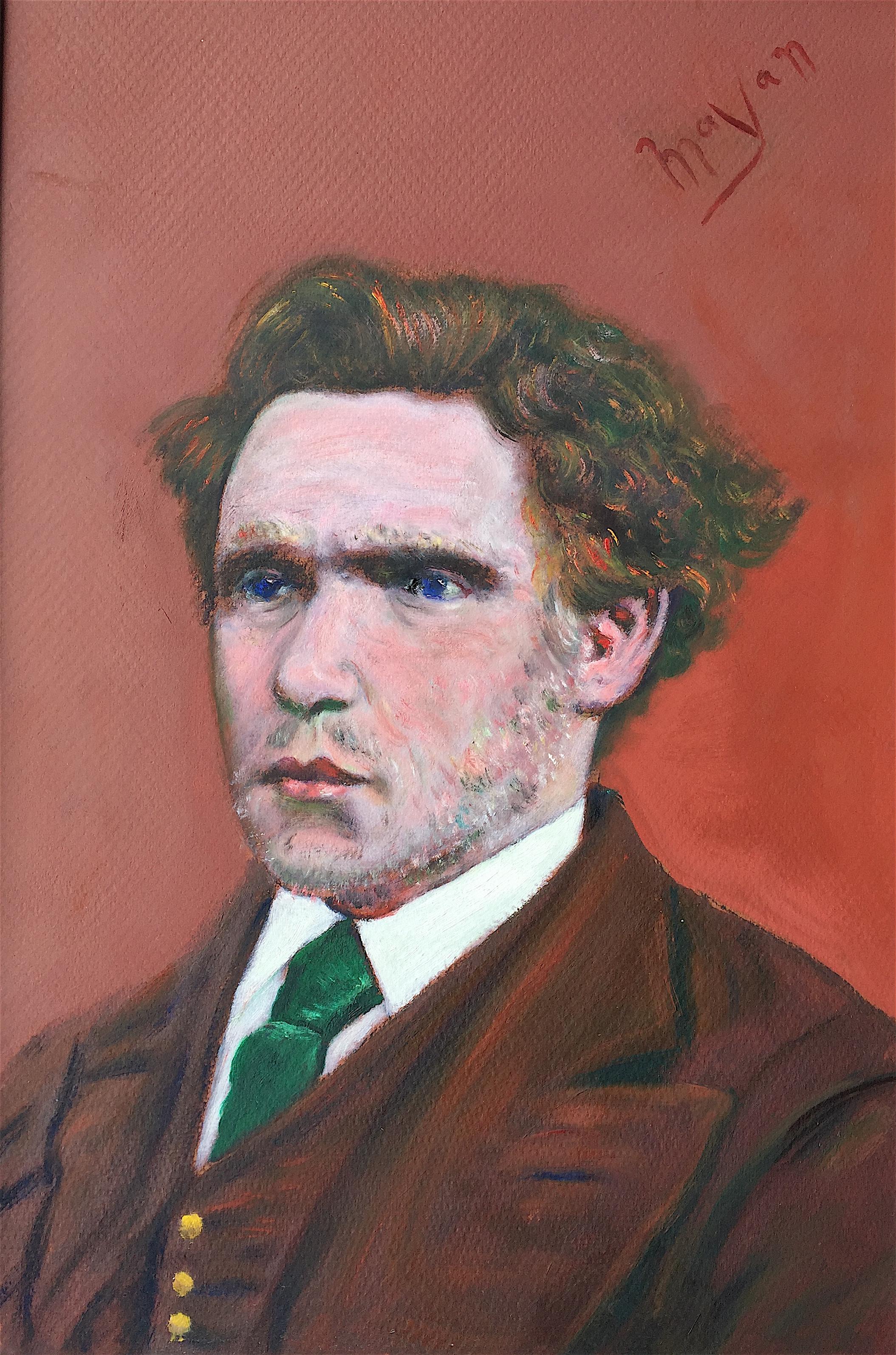 Van Gogh As A Young Man