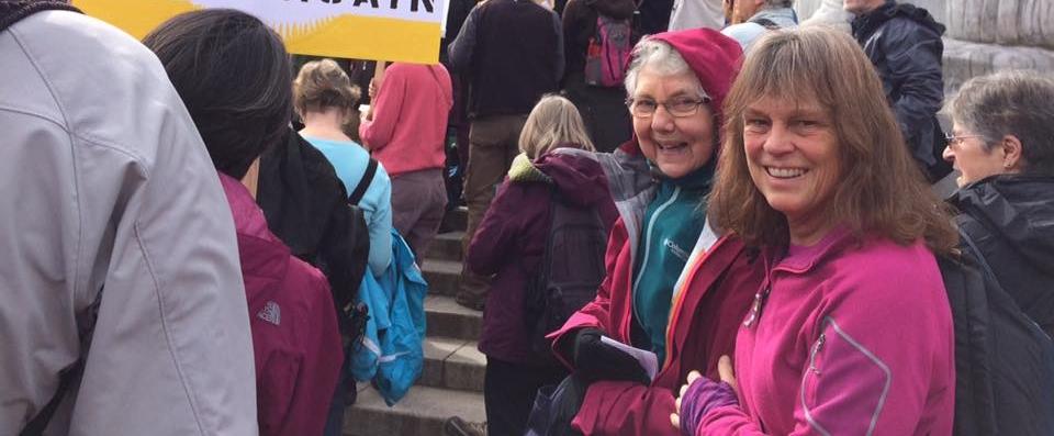 Visiting Salem, Oregon on behalf of eco-justice.
