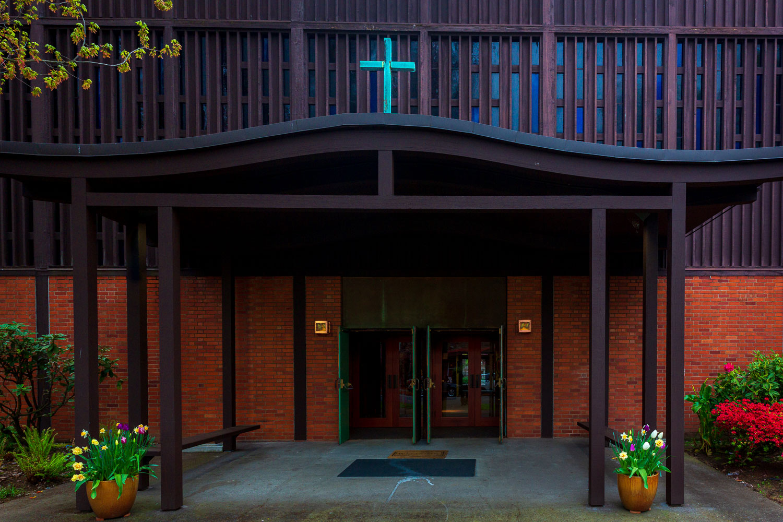 Central Lutheran Church Main Entrance