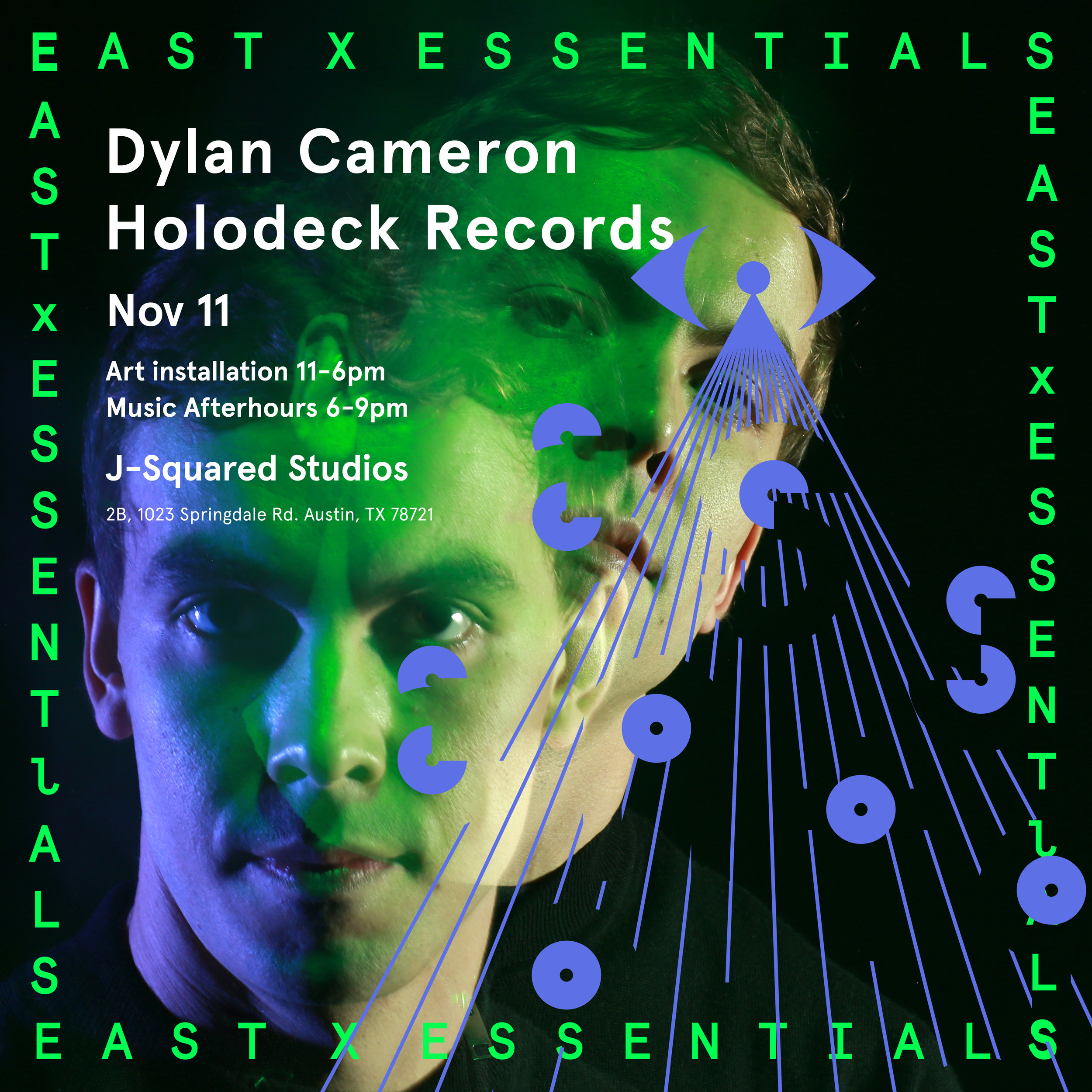 Dylan Cameron, Alternate flyer for EAST X ESSENTIALS CREATIVE