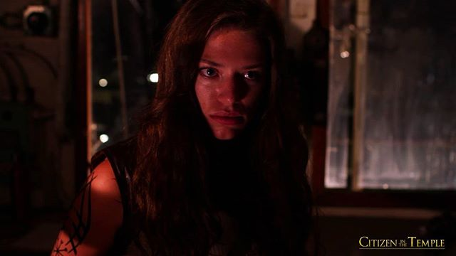 Lana Smithner as Kaiya from our #steampunk inspired #scifi movie #CitizenInTheTemple. Free for #AmazonPrime members on #AmazonVideoDirect. TenWingMedia.com/citizeninthetemple.