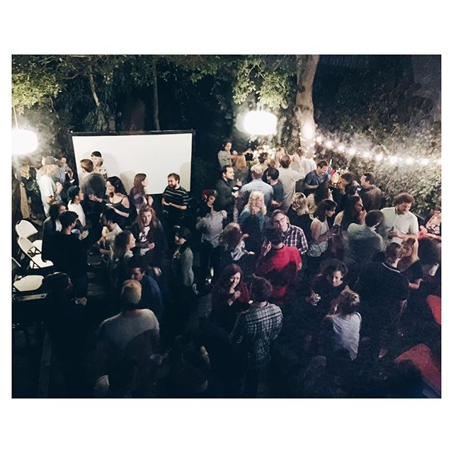 I trapped all these white people in a backyard last night - not sure if they're still there 👍