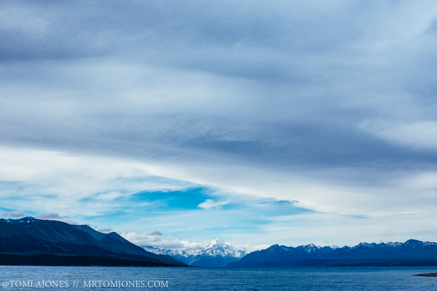 Mt Cook, New Zealand's tallest mountain.
