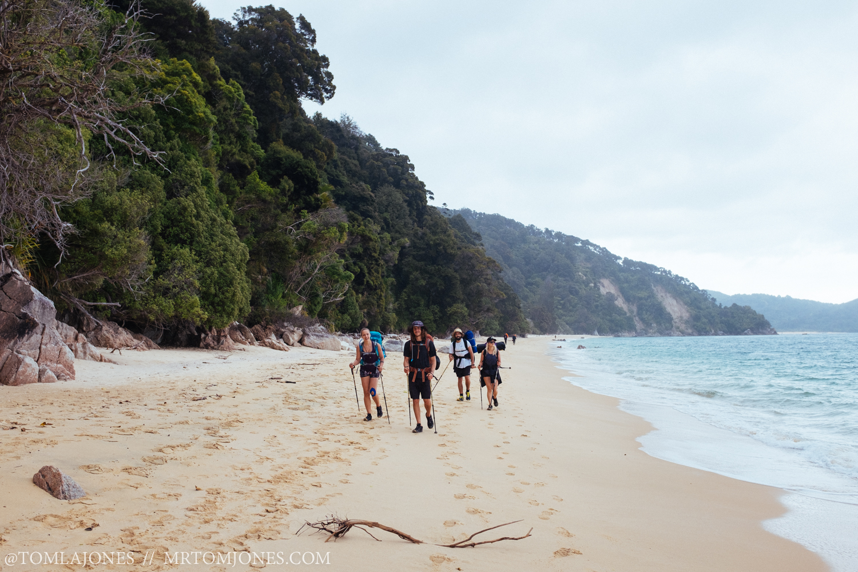 My four Abel Tasman Amigos.