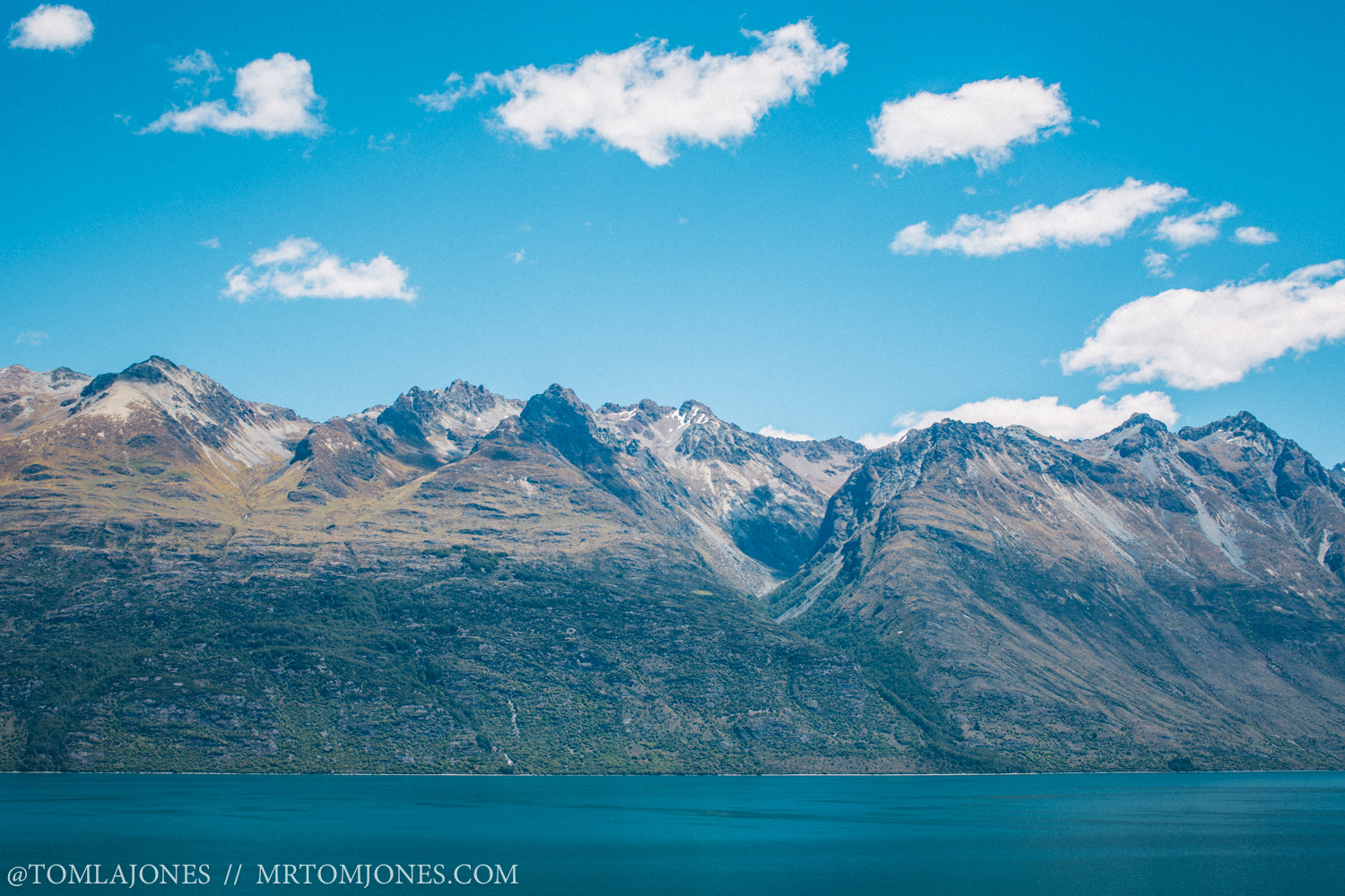 The mountains surrounding Lake Wakatipu have a strong, holding energy, standing tall and powerful.