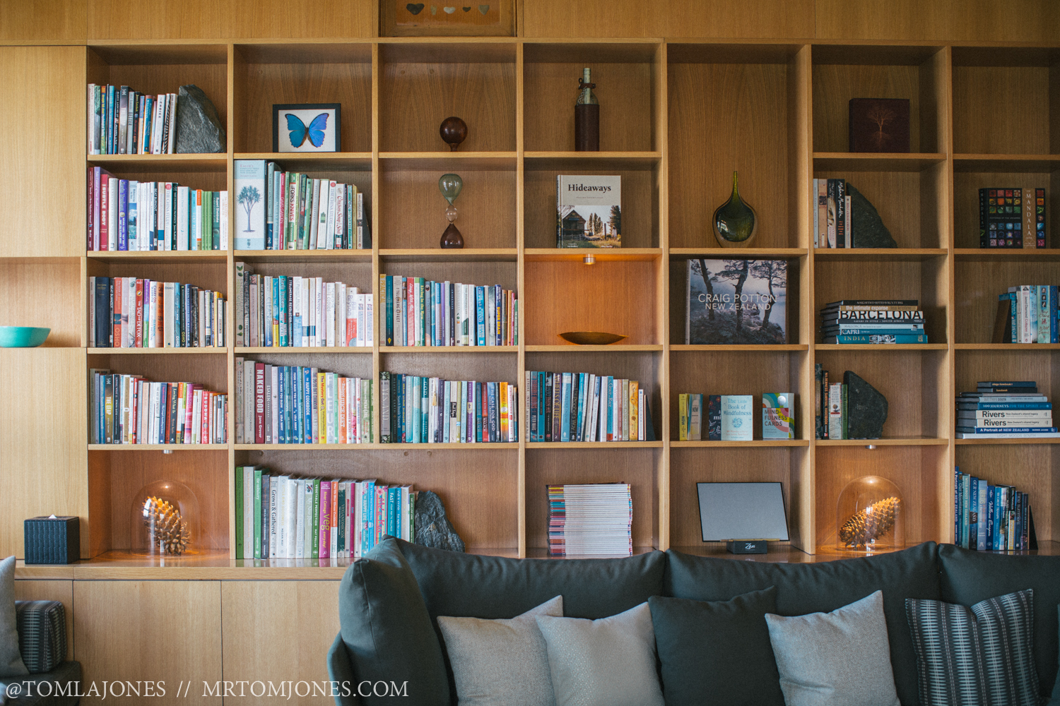 The library at Aro Ha is literally full of wonderful books to ignite your passion and inspire your soul.