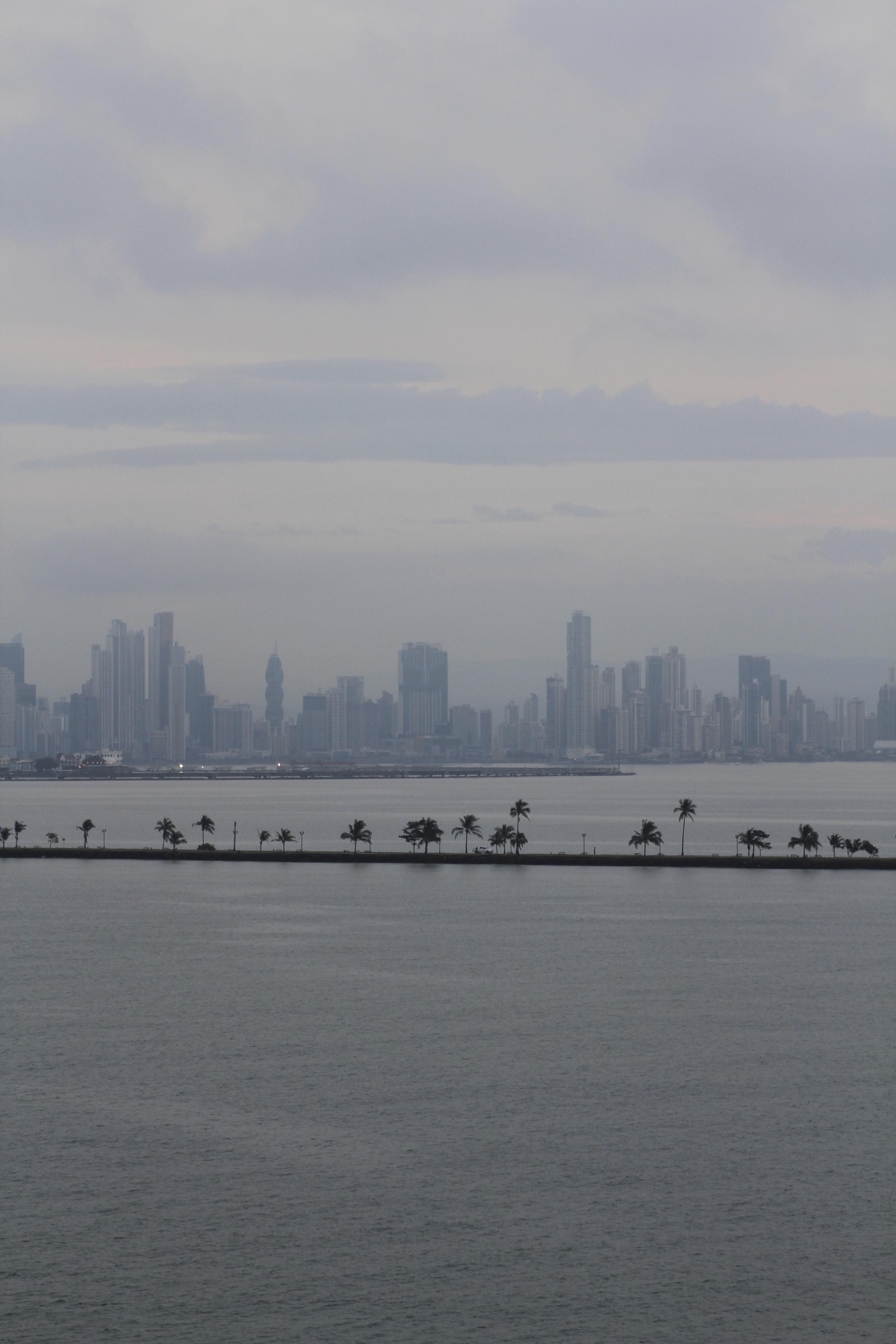 Panama City past the causeway.