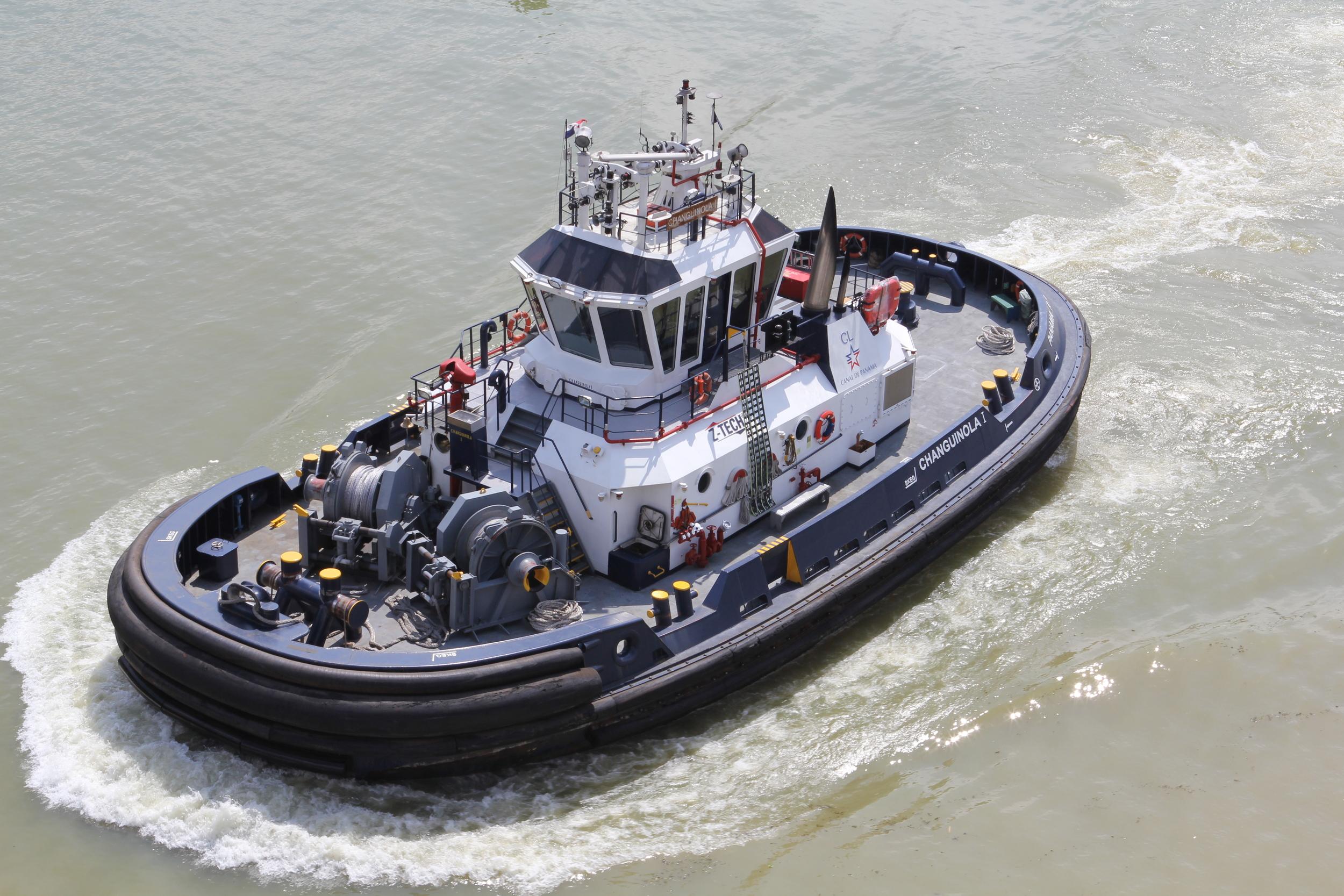 A canal tug