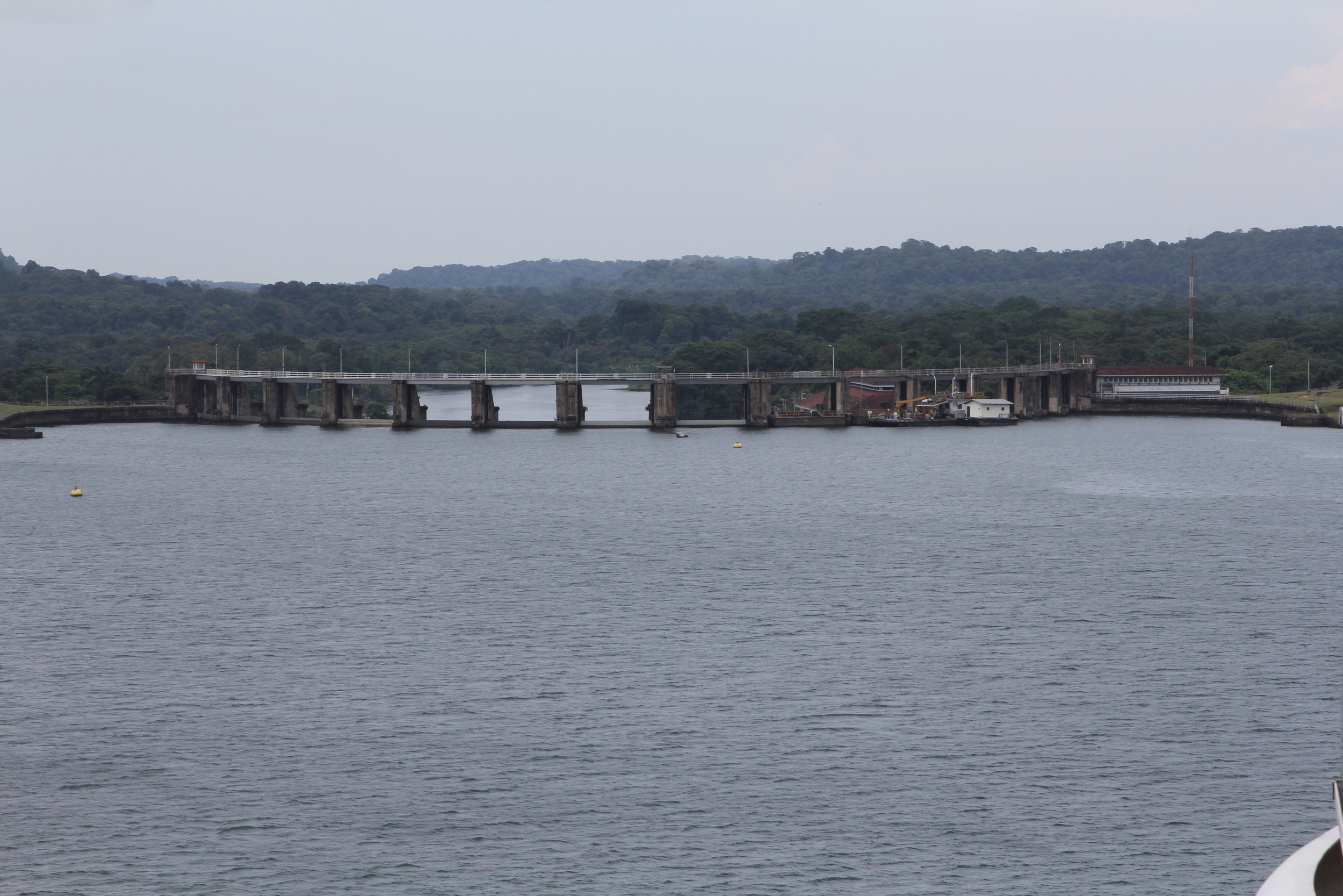 The Dam that created the lake