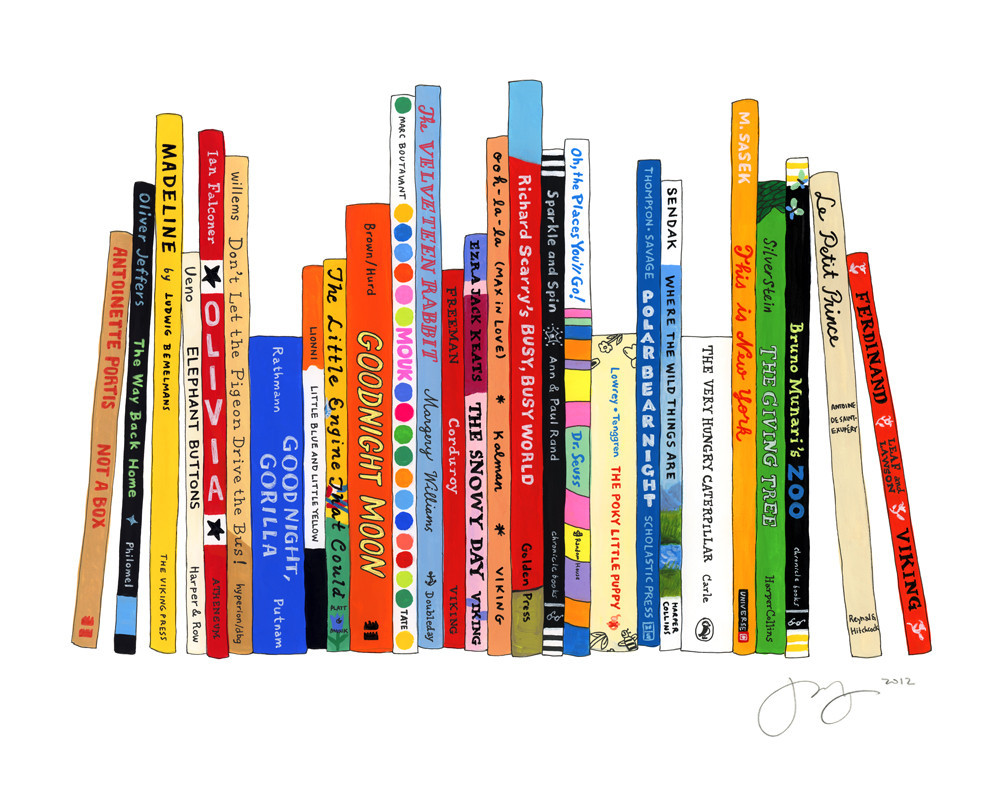 Jane Mount,  Ideal Bookshelf 488: Kids