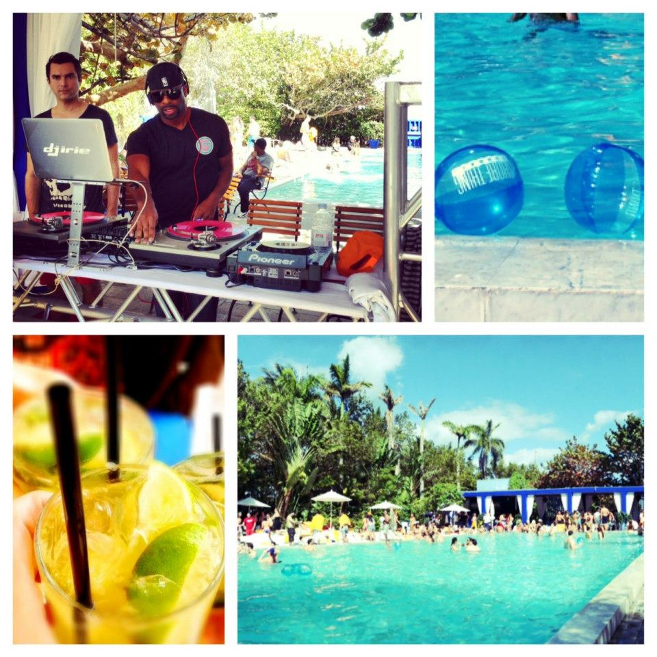 Shore Thing Sundays pool party.  Photo courtesy of the Shore Club.