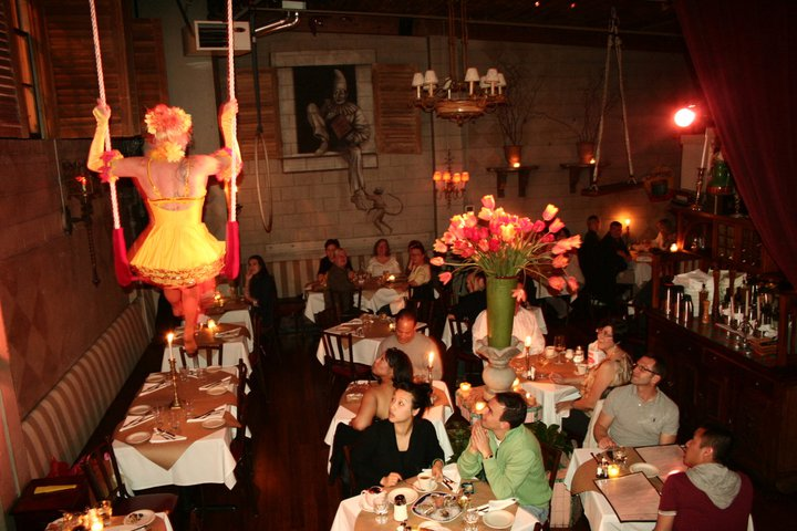 Dinner and a show at The Pink Door. Photo by The Pink Door.