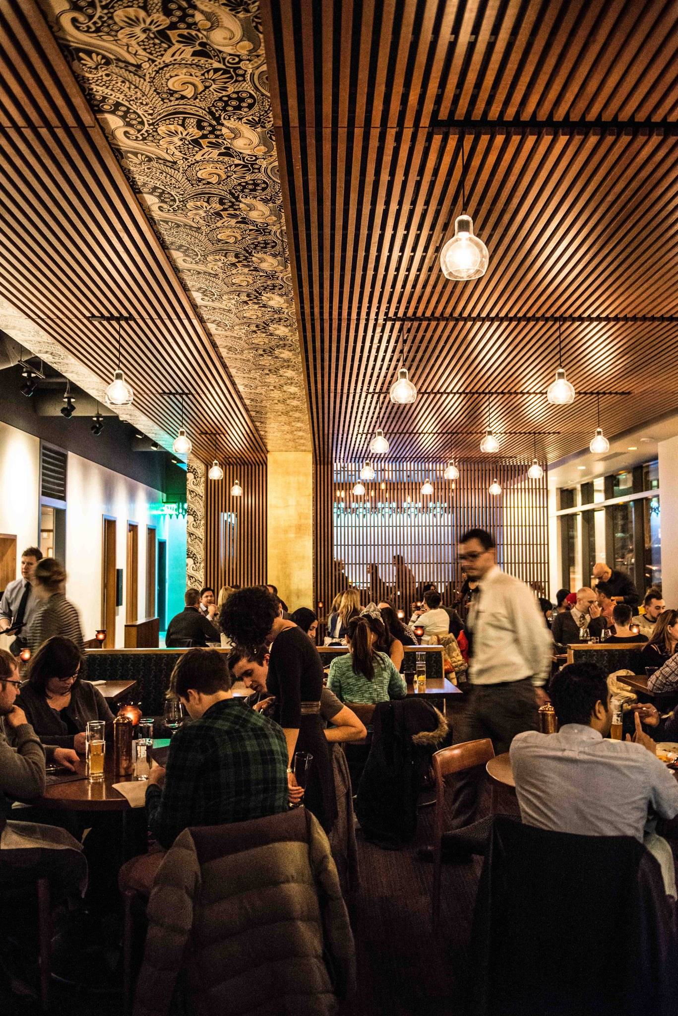 Contemporary decor inside South Lake Union's Shanik.  Photo by Shanik.