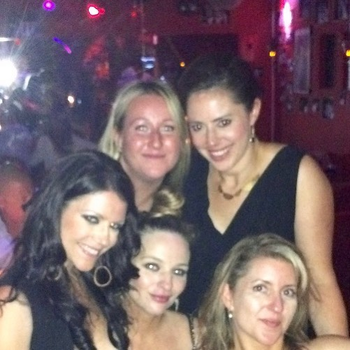 Because I miss these ladies (can we please go back to St. Barts?) and because... #fofty.