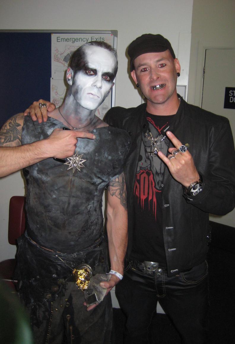 Adam Darski of Behemoth at Metal Hammer Golden Gods Awards 2007