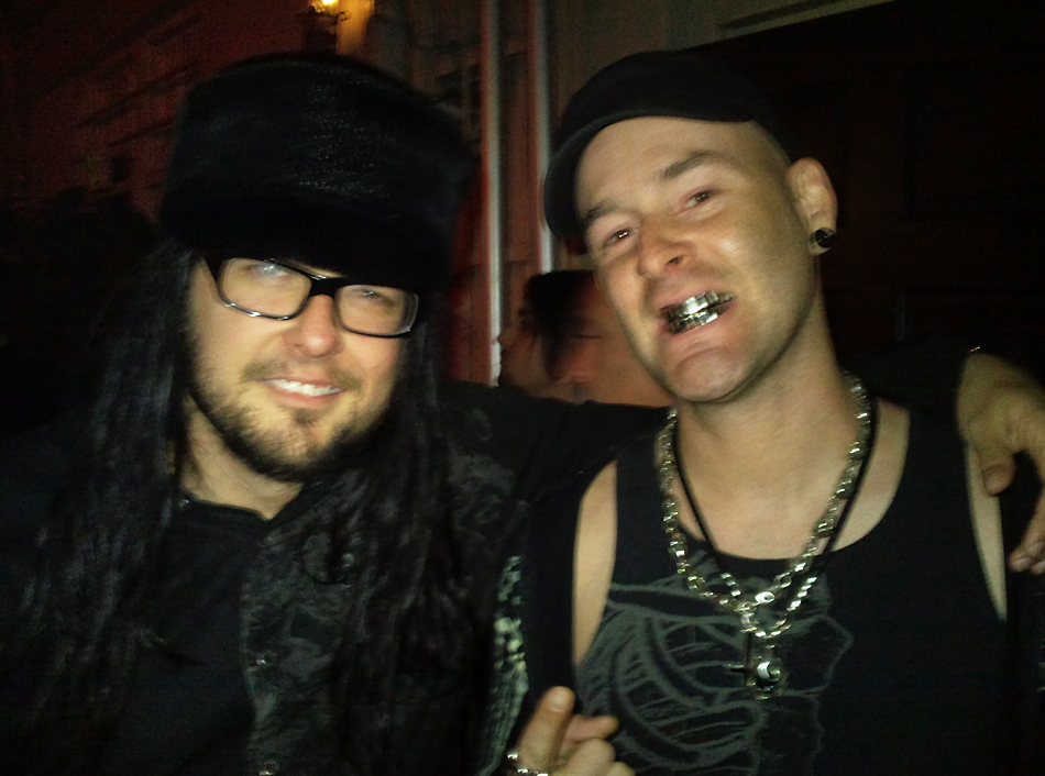 Jonathan Davis of Korn, Bar Sinister, LA