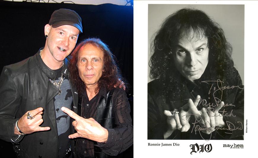 Ronnie James Dio (RIP) of Black Sabbath