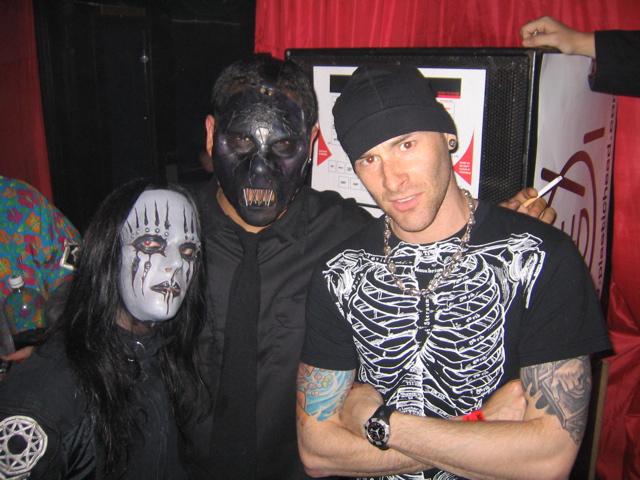 Paul Gray and Joey Jordison of Slipknot