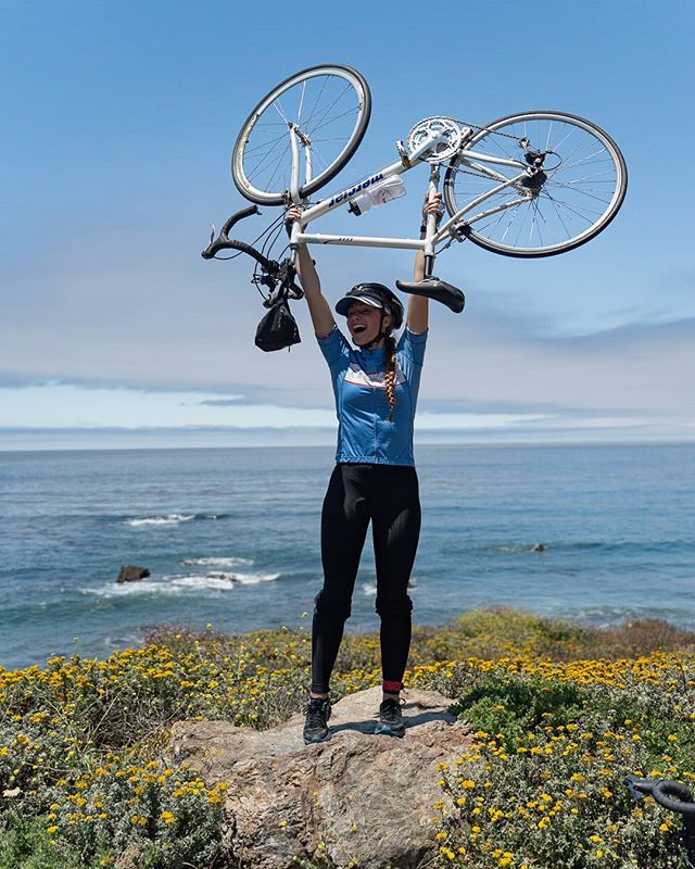 There's no better feeling than using your own energy to travel.  #bicycle #energy #cyclist #cycling #rideonepulse #beach #biking #caclimateexpedition
