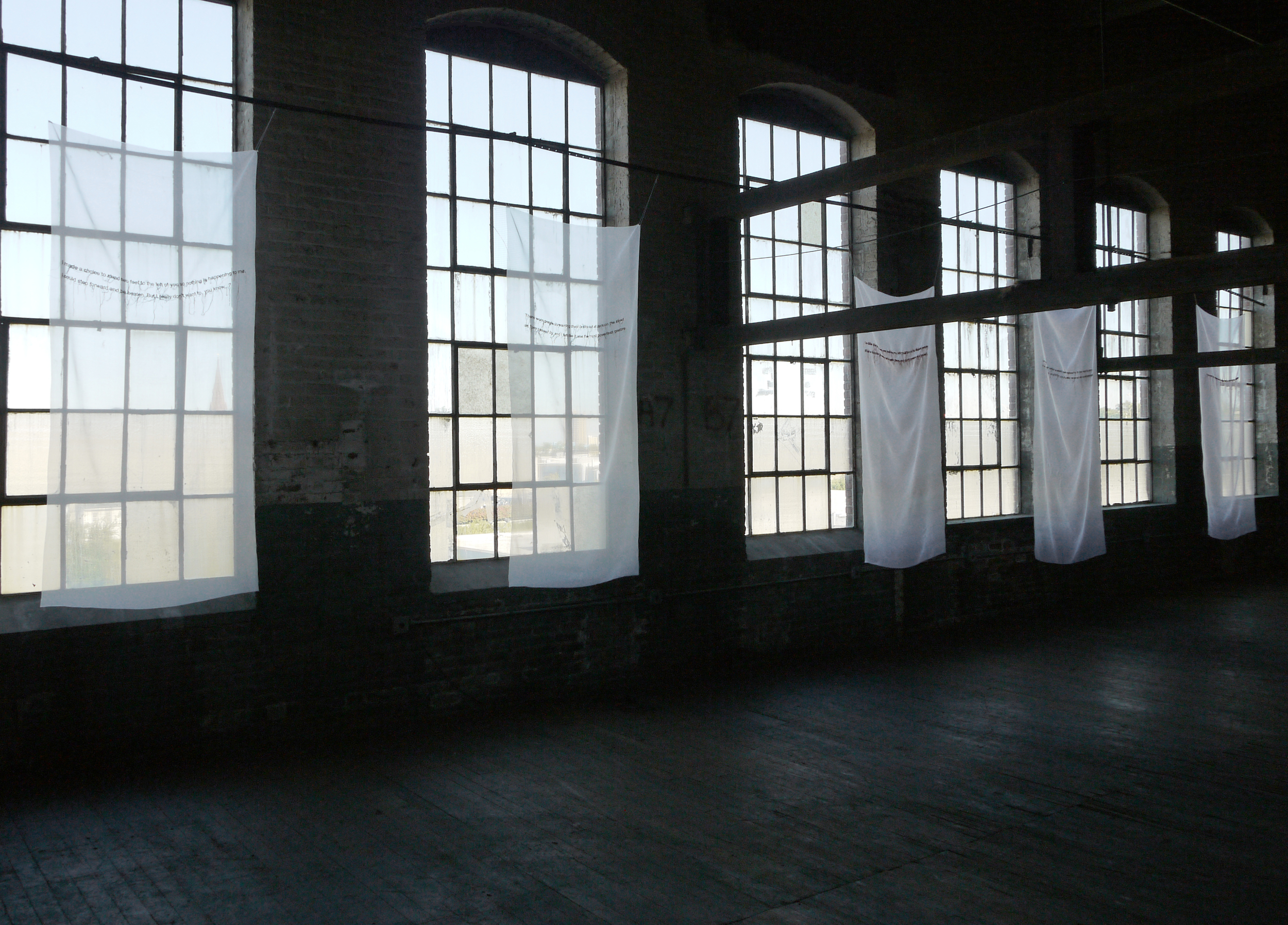 Bodies on the Line, installation view