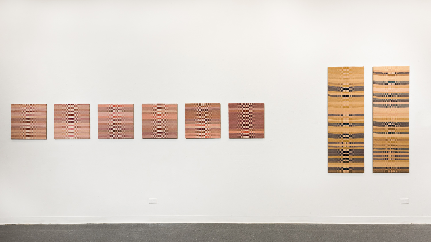 It's Not Just About the Rain, installation view