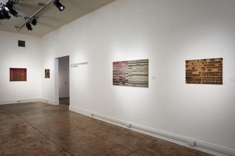 2016 gallery installation in Oakland, CA