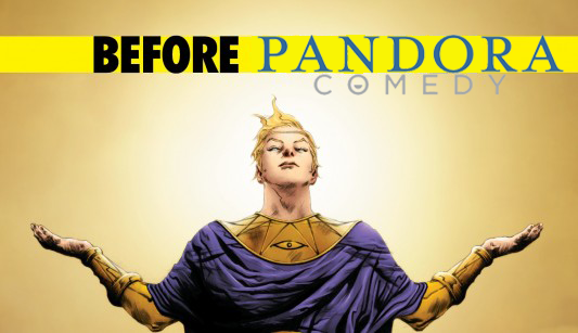A few years before Pandora Comedy launched with Laughspin, I wrote an article for Laughspin about how Pandora should open a comedy section. I love you guys, but please give me a job. :D  The original images from the article with my divisions are missing, so I've added them as a gallery below.