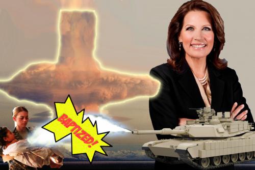 Michele Bachmann: 9/11 Was a Sinside Job