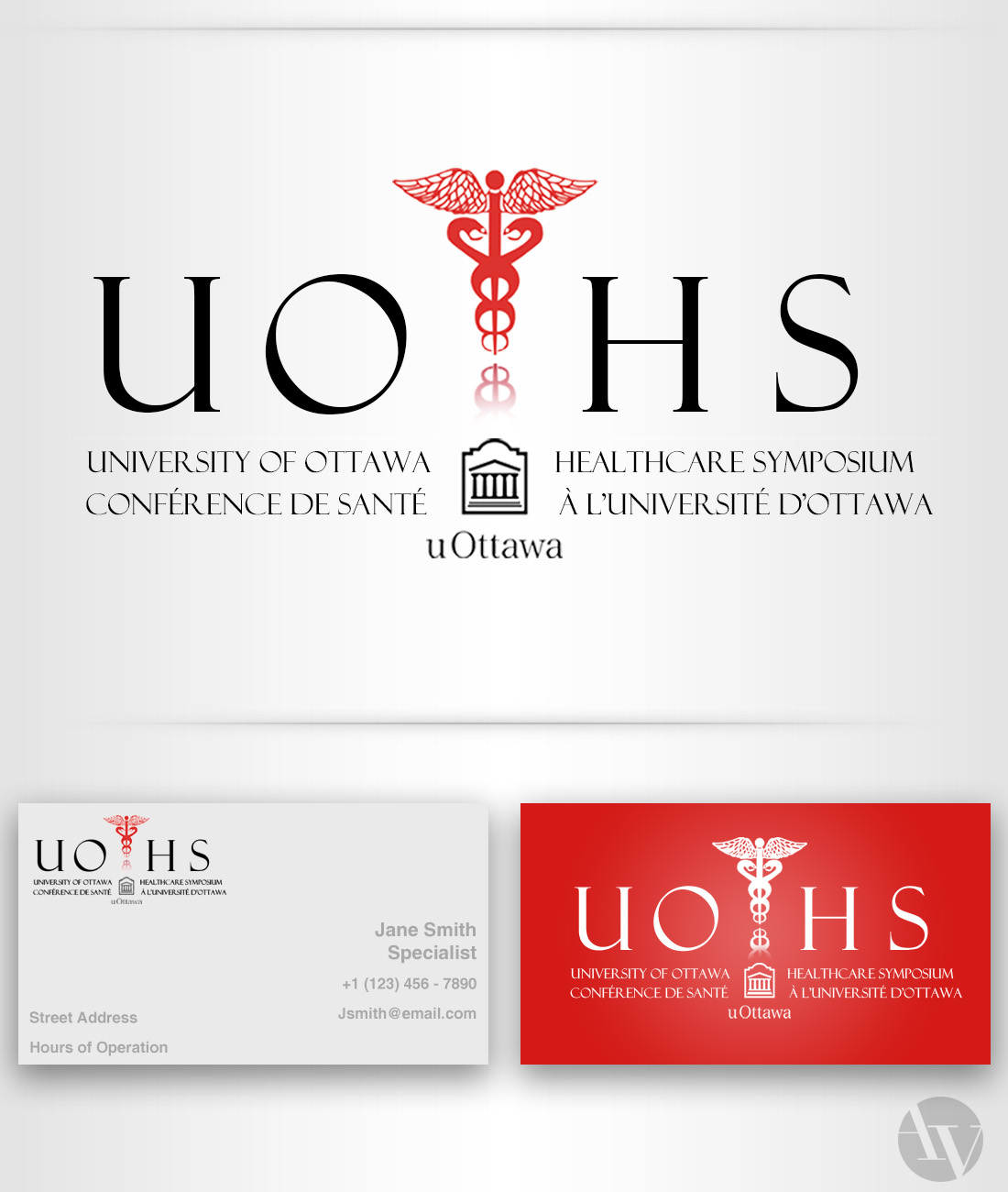 Official University of Ottawa Healthcare Symposium Logo