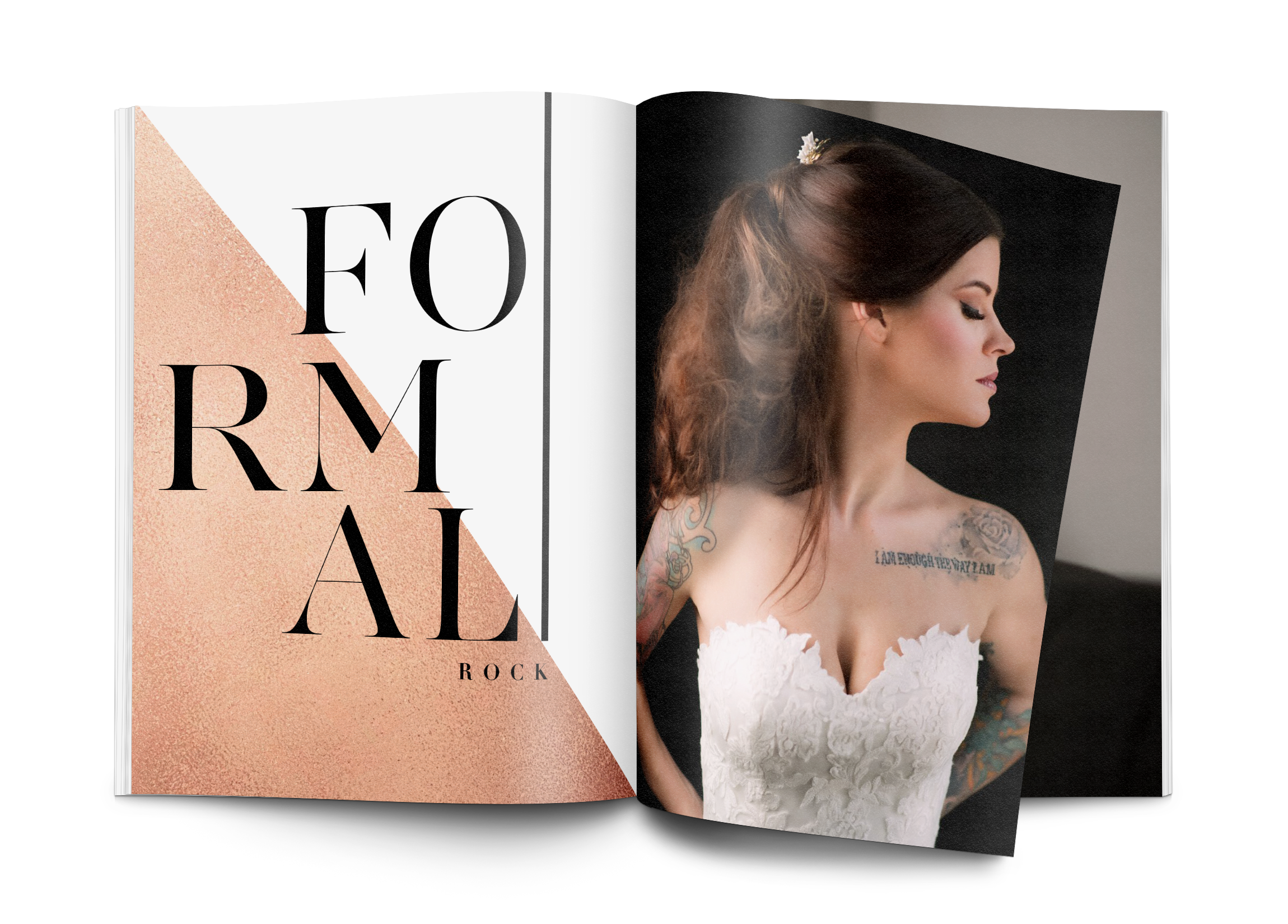 Wedding Book Spread Design