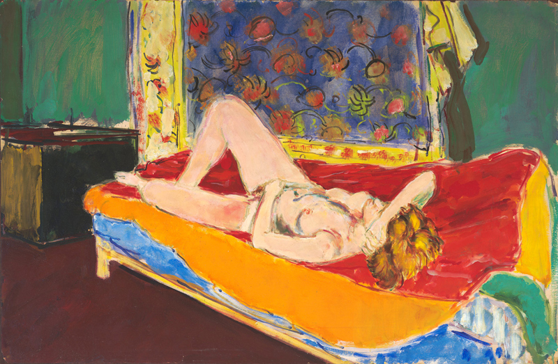 Nude on Matisse Couch