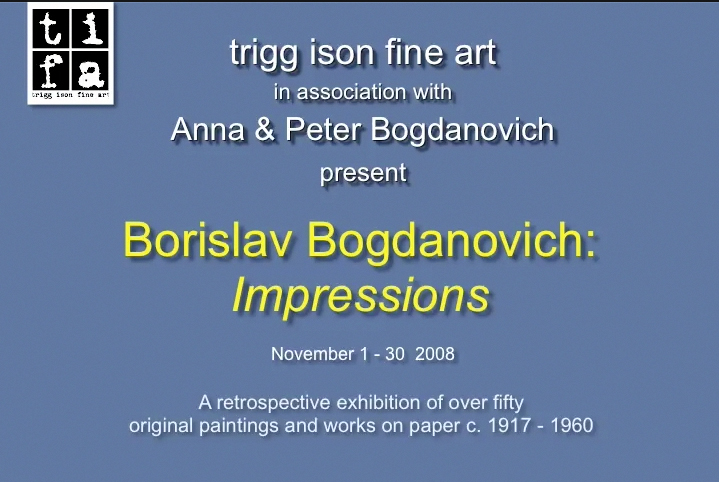 Borislav Bogdanovich:  Impressions