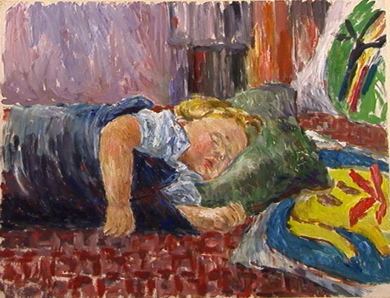 Tonka Sleeping