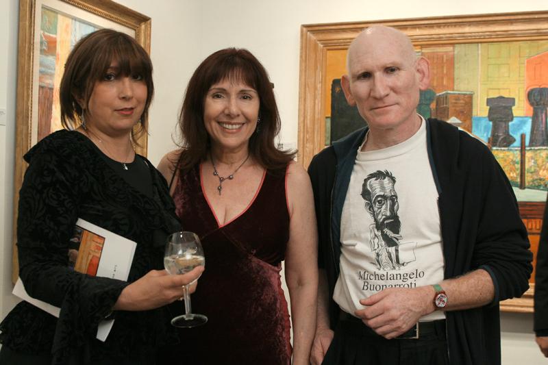 Baila Romm, Anna Bogdanovich, Peter Frank