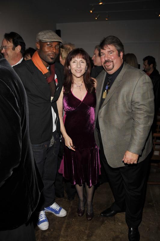 Jimmy Jean-Louis, Anna Bogdanovich, Trigg Ison; (John M. Heller/Getty Images)