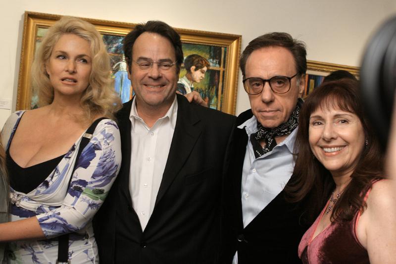 Donna Dixon, Dan Aykroyd, Peter and Anna Bogdanovich