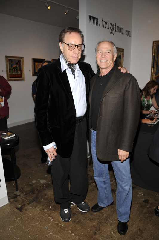 Peter Bogdanovich, Frank Marshall; (John M. Heller/Getty Images)