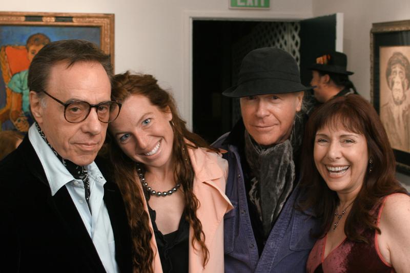 Peter and Anna Bogdanovich, Tana Frederick, Henry Jaglom