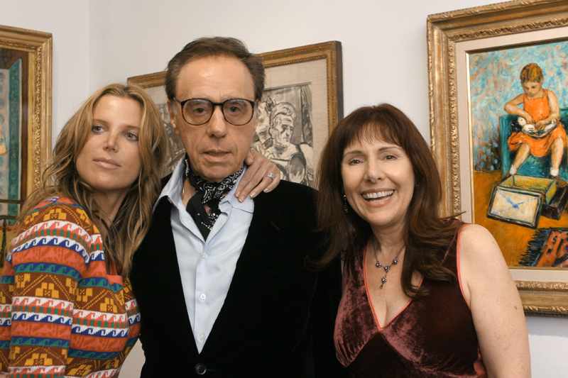 Louise Stratten, Peter and Anna Bogdanovich