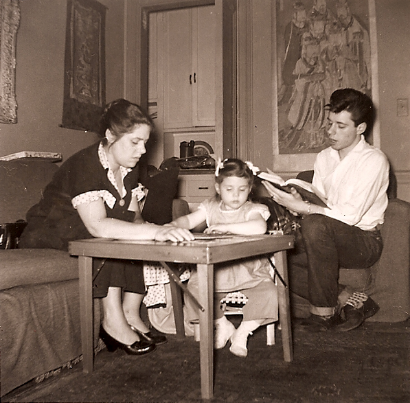 Herma, Anna and Peter 1955