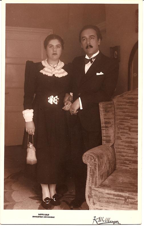 Borislav and Herma Civil Wedding / NOVI SAD 1937