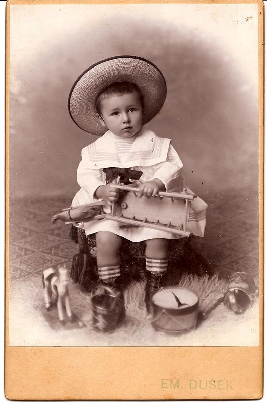 Borislav with Toys / Ruma c. 1901